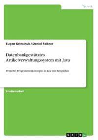 Datenbankgestütztes Artikelverwaltungssystem mit Java