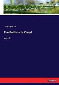 The Politician's Creed