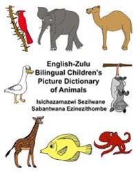 English-Zulu Bilingual Children's Picture Dictionary of Animals