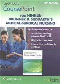 Brunner & Suddarth's Textbook of Medical-Surgical Nursing Lippincott Coursepoint Access Code + Lippincott Docucare Access Code