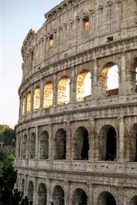 View of the Roman Colosseum at Sunset Rome Italy Journal: 150 Page Lined Notebook/Diary