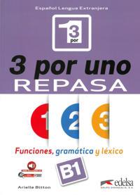 3 por uno - Repasa (B1). Buch + Audio-Online