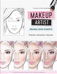 Makeup Artist Bridal Face Charts