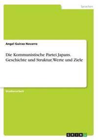 Die Kommunistische Partei Japans. Geschichte Und Struktur, Werte Und Ziele