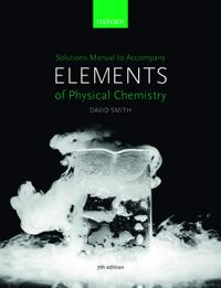 US Solutions Manual to accompany Elements of Physical Chemistry 7e