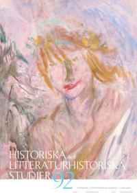 Historiska och litteraturhistoriska studier 92