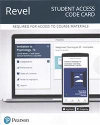 Revel for Invitation to Psychology -- Access Card