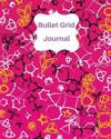 Pink and Black Graphic: Bullet Grid Journal, 150 Dot Grid Pages (8x10): Dot Grid Journal for Design Book, Work Book, Planner, Dotted Notebook,