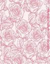 Pink Flowers Bloom 2017-2018 Large Academic Year Monthly Planner: July 2017 to December 2018 18 Month Calendar with Motivational Quotes