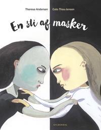 En sti af masker