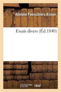 Essais Divers