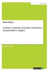 Ceshtje Te Trajtimit Semantik Te Mbiemrave Ne Gramatikat E Shqipes