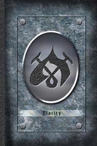 Clarity - Shadowhunters Rune Journal Blank Notebook: The Mortal Instruments City of Bones Blank Journal A4 Notebook, for Daily Reflection, 150 Pages,