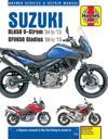 Suzuki Dl650 V-strom & Sfv650 Gladius, '04-'13 Haynes Repair Manual
