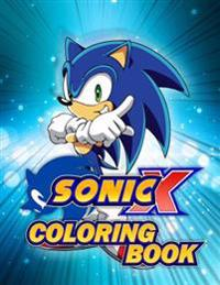 Sonic Coloring Book: A Great Activity Book for Children