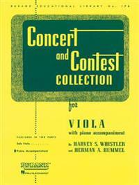 Concert and Contest Collection for Viola: Piano Accompaniment