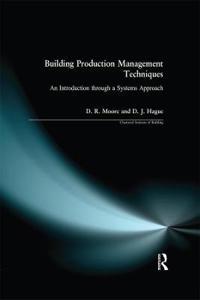 Building Production Management Techniques