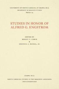 Studies in Honor of Alfred G. Engstrom