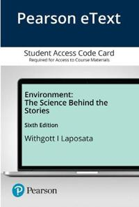Pearson Etext Environment: The Science Behind the Stories -- Access Card
