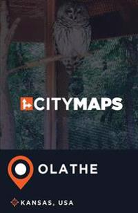 City Maps Olathe Kansas, USA