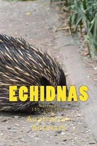 Echidnas: Notebook 150 Lined Pages 6x9