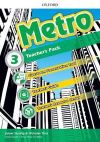Metro: Level 3: Teacher's Pack