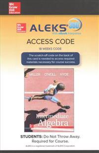 Aleks 360 Access Card (18 Weeks) for Intermediate Algebra