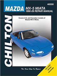Mazda MX-5 Miata Automotove Repair Manual (Chilton)