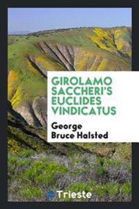 Girolamo Saccheri's Euclides Vindicatus
