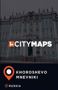 City Maps Khoroshevo-Mnevniki Russia