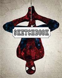 Sketchbook: Watercolor Spiderman V.2: 120 Pages of 8 X 10 Blank Paper for Drawing, Doodling or Sketching (Sketchbooks)