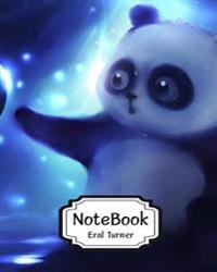 Notebook: Panda 01: Pocket Notebook Journal Diary, 120 Pages, 8 X 10 (Notebook Lined, Blank No Lined)