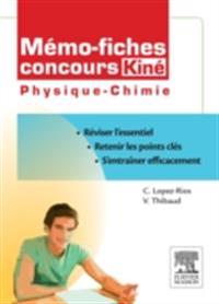 Memo-fiches concours Kine Physique - Chimie