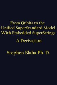 From Qubits to the Unified Superstandard Model with Embedded Superstrings a Derivation