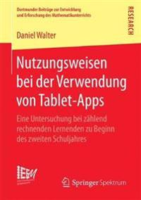 Nutzungsweisen Bei Der Verwendung Von Tablet-apps
