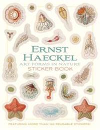 Ernst Haeckel Art Forms in Nature Sticker Book