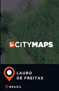 City Maps Lauro de Freitas Brazil