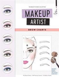 Makeup Artist Brow Charts
