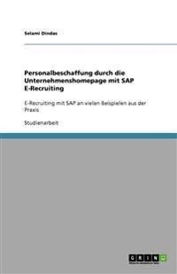 Personalbeschaffung Durch Die Unternehmenshomepage Mit SAP E-Recruiting