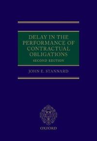 Delay in the Performance of Contractual Obligations