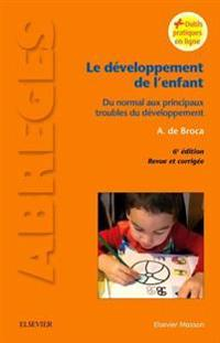 Le developpement de l'enfant