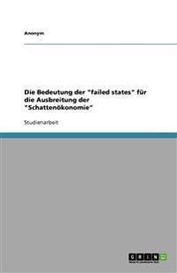 Die Bedeutung Der Failed States Fur Die Ausbreitung Der Schattenokonomie