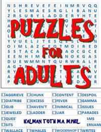 Puzzles for Adults: 111 Large Print Word Search Puzzles