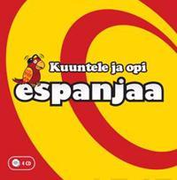 Kuuntele ja opi espanjaa (4 cd)