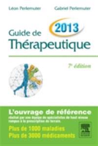 Guide de therapeutique 2013 CAMPUS
