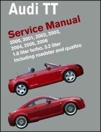 Audi TT Service Manual 2000-2006