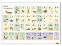 Anlaut-Poster DIN A1 (LA) Lateinische Ausgangsschrift