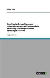 Eine Stadienbetrachtung Der Unternehmensentwicklung Und Die Ableitung Stadienspezifischer Beratungsbausteine