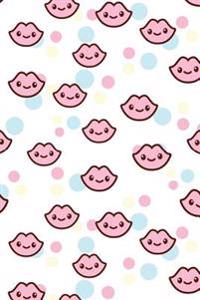Pink Lips Kawaii Journal