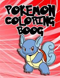 Pokemon Coloring Book: Fun Coloring Pages with 150 Pokemon Characters(generation 1).